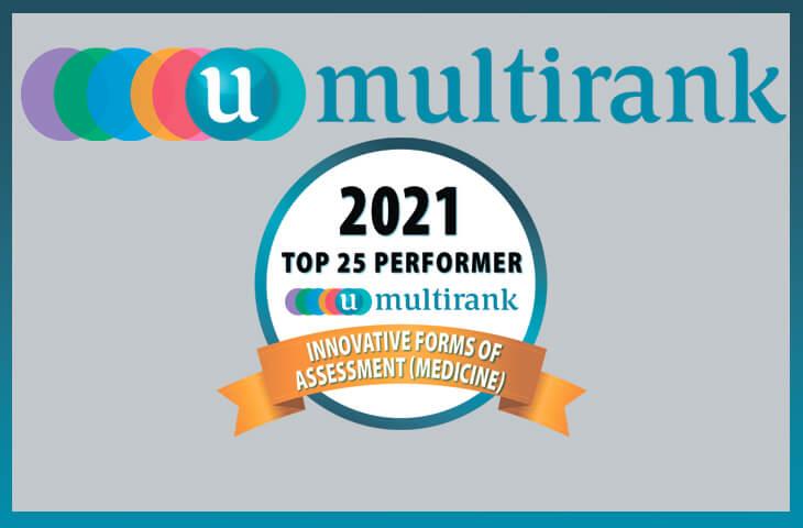 За даними U-Multirank СумДУ увійшов до ТОП-25 університетів світу за використання інноваційних підходів у медичній освіті